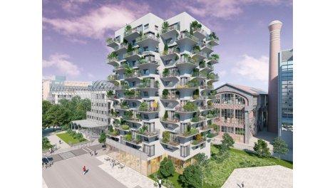 Appartement neuf Alguésens éco-habitat à Paris 13ème
