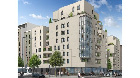 Appartement neuf Villarmonie investissement loi Pinel à Lyon 8ème