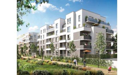 Appartement neuf Les Jardins Don Bosco éco-habitat à Caen