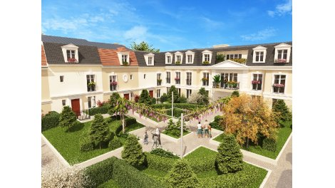 Appartements et maisons neuves Le Domaine éco-habitat à Châtenay-Malabry