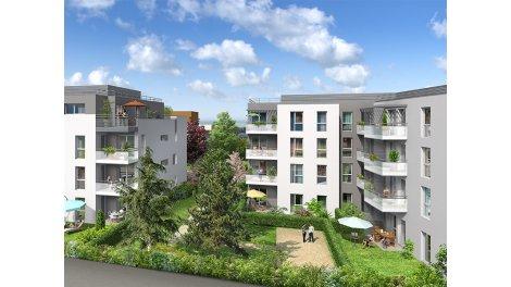 Appartement neuf L'Allée de Marianne investissement loi Pinel à Meyzieu