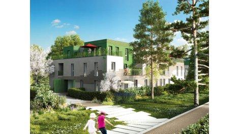Appartement neuf Le Jardin de Jean et Suzanne éco-habitat à Amiens