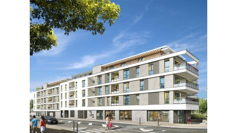 Appartement neuf Vil'Lariboisière investissement loi Pinel à Thorigne-Fouillard