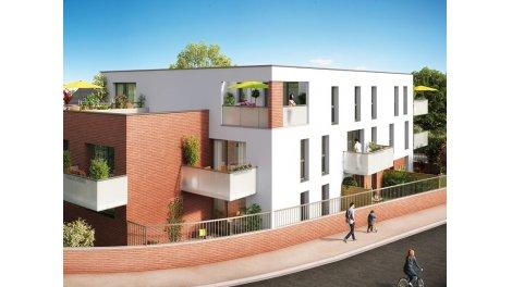 Appartement neuf Terre d'Ocre éco-habitat à Pont-à-Marcq