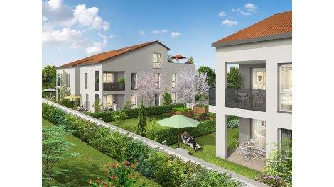 Appartement neuf Villandry investissement loi Pinel à Corbas