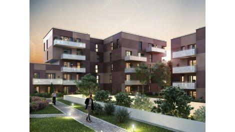 Appartement neuf La Cour des Loges éco-habitat à Haguenau