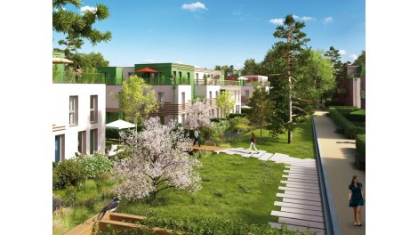 Appartement neuf Le Jardin de Jean et Suzanne 2 à Amiens