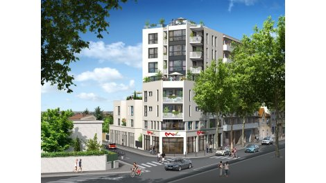Appartement neuf 29 Carats éco-habitat à Lyon 3ème
