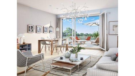 Appartement neuf Park Horizon éco-habitat à Orléans