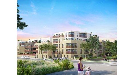 Appartements et maisons neuves La Croisée des Lys éco-habitat à Saint-Cyr-l'Ecole