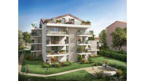 Appartement neuf Carré d'Orm investissement loi Pinel à Toulouse