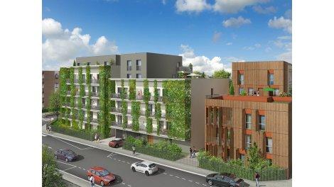 Appartement neuf Signature éco-habitat à Villeurbanne