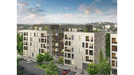 Appartement neuf Quai Ouest éco-habitat à Brignais