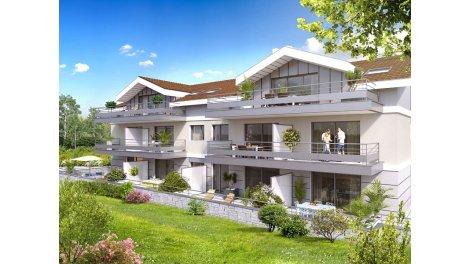 Appartement neuf Green investissement loi Pinel à Crozet