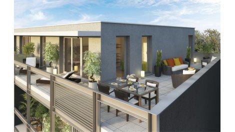 Appartements neufs Le Clos Sainte-Anne investissement loi Pinel à Lomme
