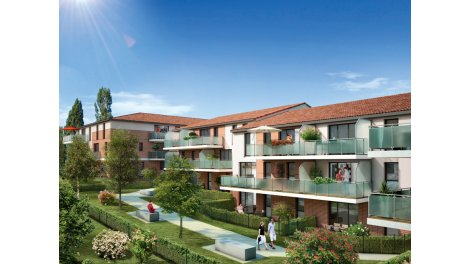 Appartement neuf Coeur Blagnac éco-habitat à Blagnac