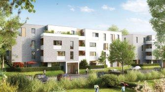 Appartements neufs Les Chemins du Bailly éco-habitat à Marcq-en-Baroeul