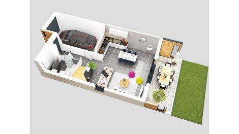 logement neuf à Prévessin-Moens