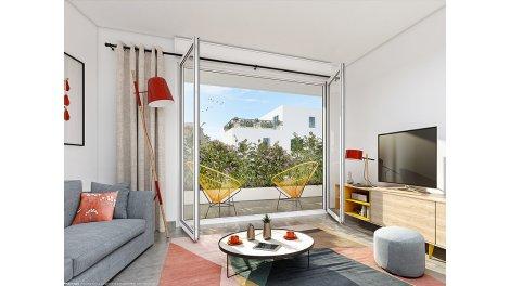Appartement neuf Résidence Laurens éco-habitat à Montpellier