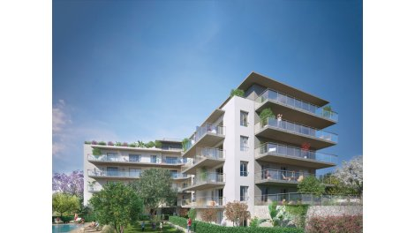 Appartement neuf Le Domaine d'Acanthe éco-habitat à Nice