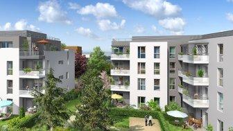 Appartements neufs L'Allée de Marianne éco-habitat à Meyzieu