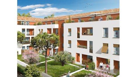 Appartement neuf Patio des Olives investissement loi Pinel à Marseille 13ème