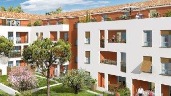 Appartements neufs Patio des Olives investissement loi Pinel à Marseille 13ème