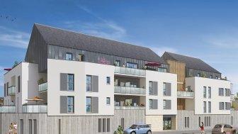 Appartements neufs Carré Design investissement loi Pinel à Joué-les-Tours