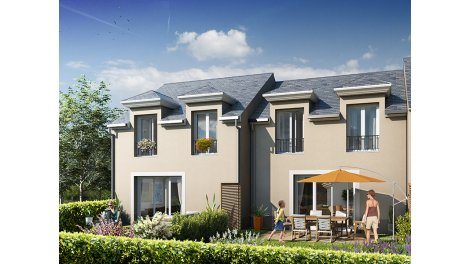 Maisons neuves Le Hameau de Valbruze investissement loi Pinel à Fondettes