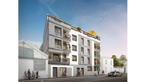 Appartement neuf L'Atelier Uptown éco-habitat à Aubervilliers