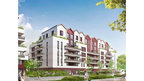 Appartement neuf Uni'Vert investissement loi Pinel à Neuilly-sur-Marne