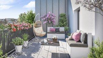 Appartements neufs Symbol éco-habitat à Asnieres-sur-Seine