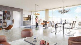 Appartements neufs Cristal Chartrons investissement loi Pinel à Bordeaux