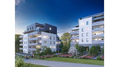Appartement neuf Aromatik investissement loi Pinel à Viry