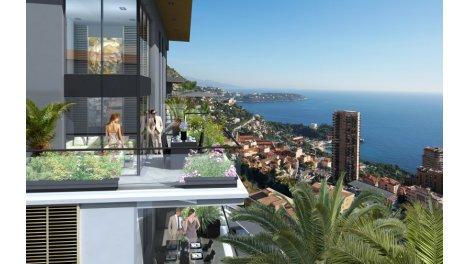 Appartement neuf Krystal Palace investissement loi Pinel à Beausoleil