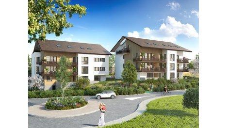 Appartements neufs Lignes et Collines éco-habitat à Vulbens