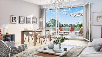 Appartements neufs Park Horizon éco-habitat à Orléans