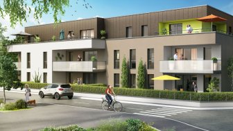 Appartements neufs Arpège investissement loi Pinel à Vendenheim