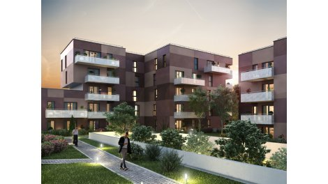 Appartement neuf La Cour des Loges investissement loi Pinel à Haguenau