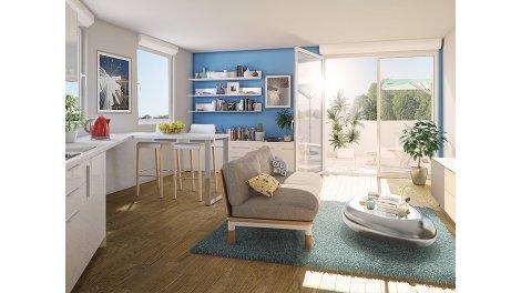 Appartements neufs Chlorophylle investissement loi Pinel à Couëron