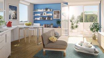 Appartements neufs Chlorophylle éco-habitat à Couëron