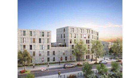 Appartements neufs Art'Monia investissement loi Pinel à Lille