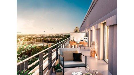 Appartement neuf Les Jardins d'Abraxas éco-habitat à Noisy-le-Grand