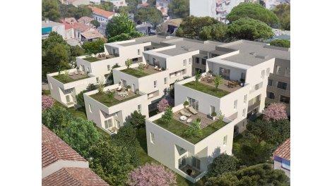 Appartement neuf Terrasses M investissement loi Pinel à Marseille 9ème