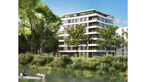 Appartement neuf Le Belvédère investissement loi Pinel à Illkirch-Graffenstaden