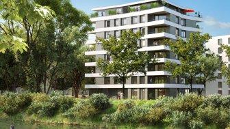Appartements neufs Le Belvédère investissement loi Pinel à Illkirch-Graffenstaden