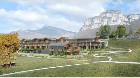 Appartement neuf Le Hameau de Douce-Noire investissement loi Pinel à Barby