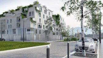Appartements neufs Les Ateliers 130 investissement loi Pinel à Chambéry