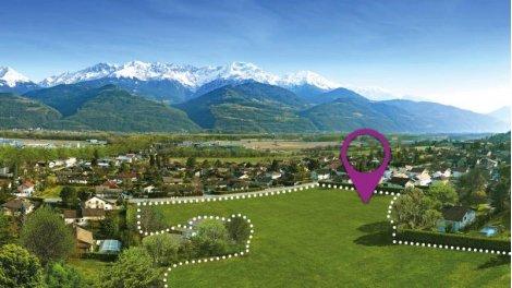 Appartement neuf Les Lodges investissement loi Pinel à Bernin