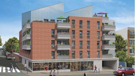 Appartement neuf Le Saint Jammes éco-habitat à Toulouse